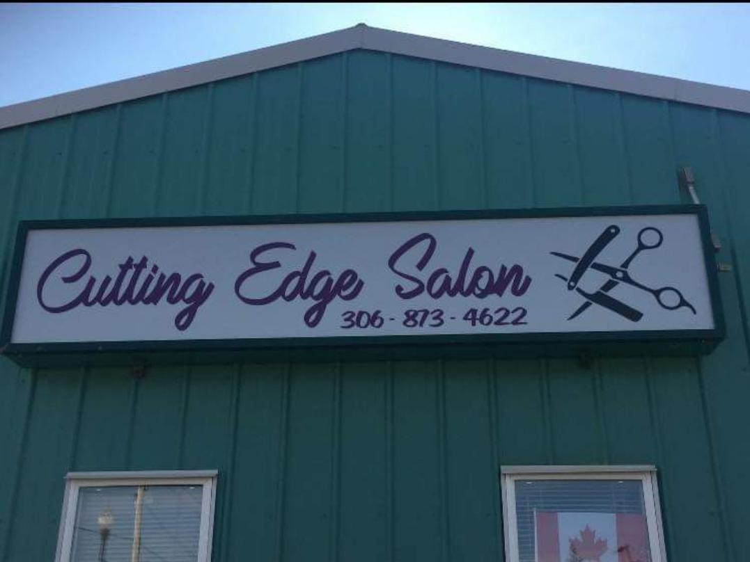 Cutting Edge Salon 820 100 St, Tisdale